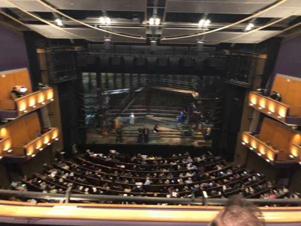 Ahmanson Theatre, secção: Balcony, fila: B, lugar: 24
