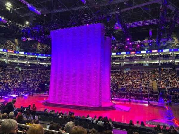 The O2 Arena, secção: 111, fila: K, lugar: 359