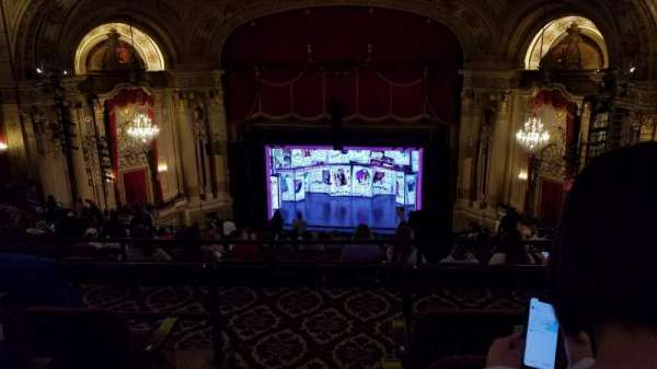 Citizens Bank Opera House, secção: Balcony RC, fila: S, lugar: 2