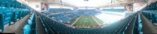 Hard Rock Stadium, secção: 332, fila: 24, lugar: 14