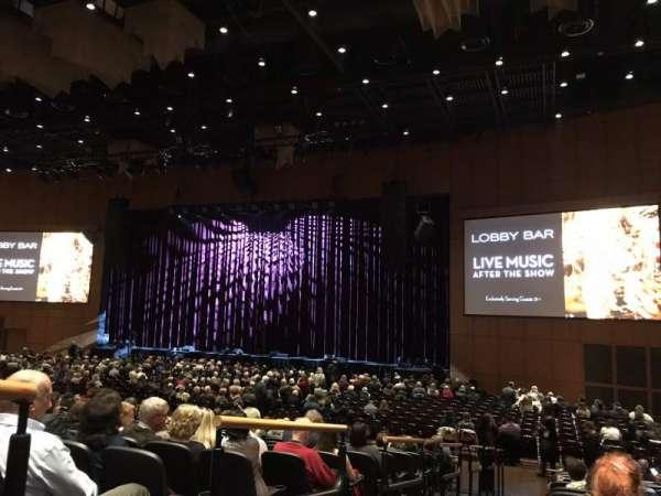 The Theater at MGM National Harbor, secção: 101, fila: N, lugar: 20