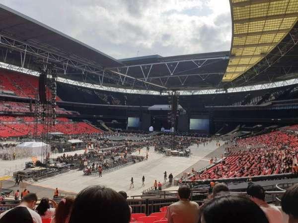 Wembley Stadium, secção: 107, fila: 39, lugar: 151
