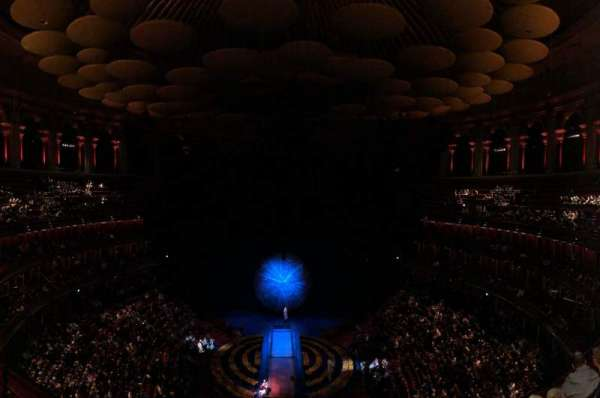 Royal Albert Hall, secção: Circle T, fila: 4, lugar: 115
