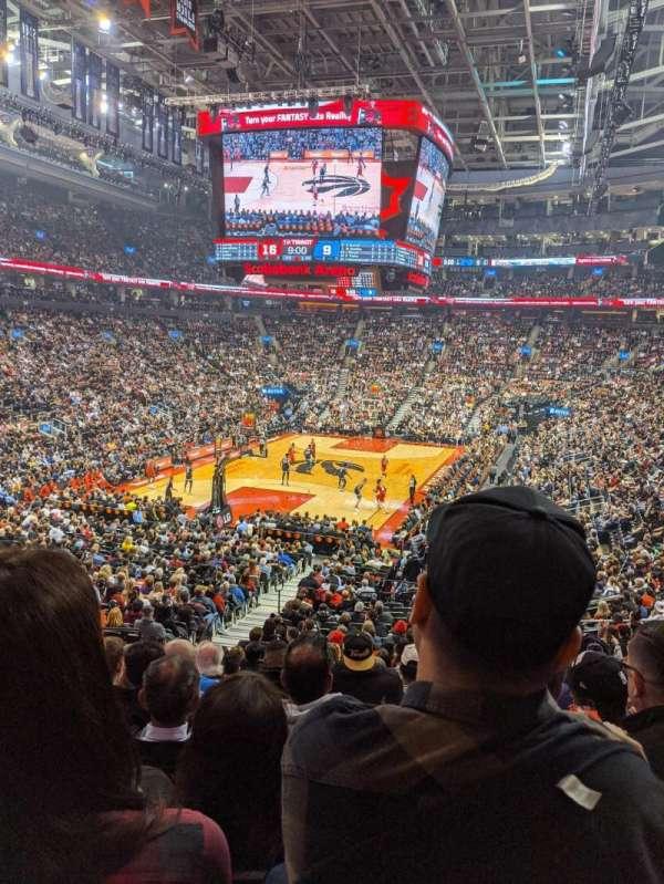 Scotiabank Arena, secção: 112, fila: 26, lugar: 15