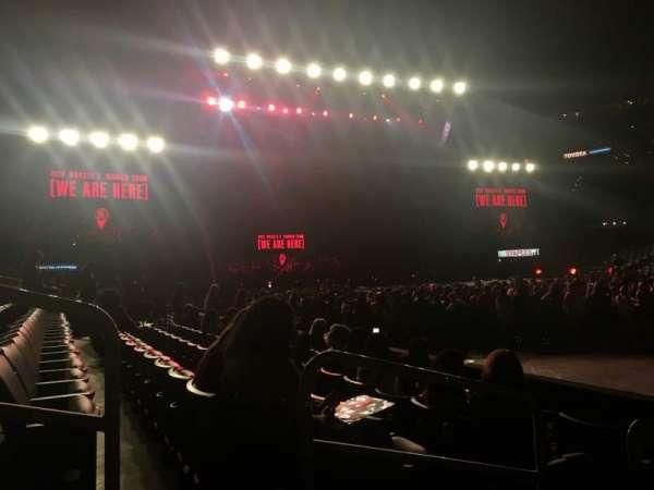 Staples Center, secção: 110, fila: 4, lugar: 3