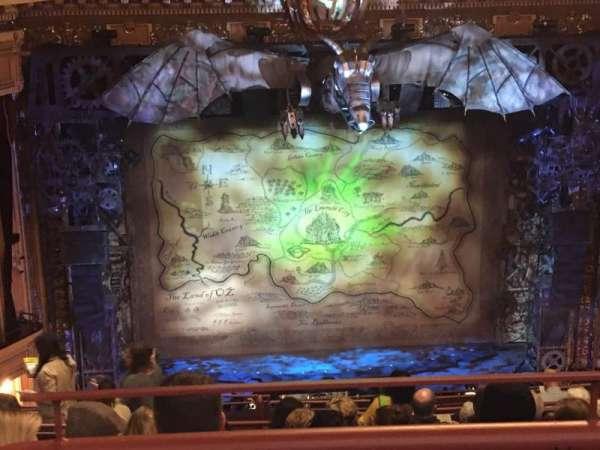 Hippodrome Theatre, secção: Center Upper Balcony, fila: M, lugar: 304