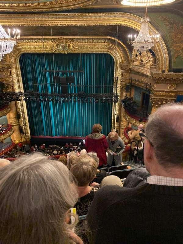 emerson colonial theatre, secção: Balcony RC, fila: H, lugar: 118