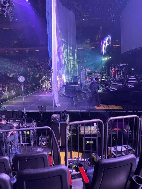 Madison Square Garden, secção: 109, fila: 6, lugar: 10