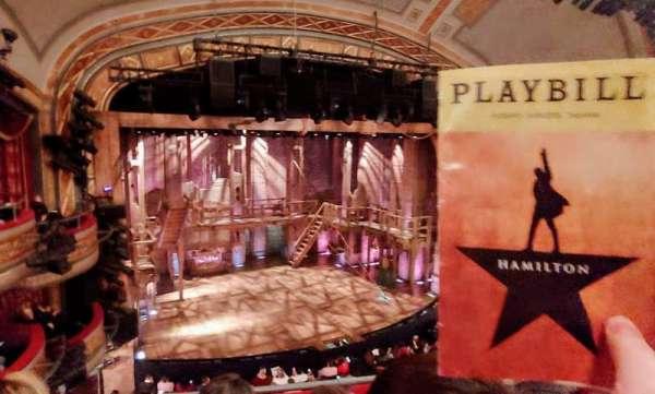 Richard Rodgers Theatre, secção: Front Mezzanine C, fila: C, lugar: 113