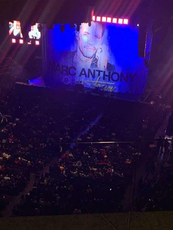 Madison Square Garden, secção: 308, fila: Bs3, lugar: 3