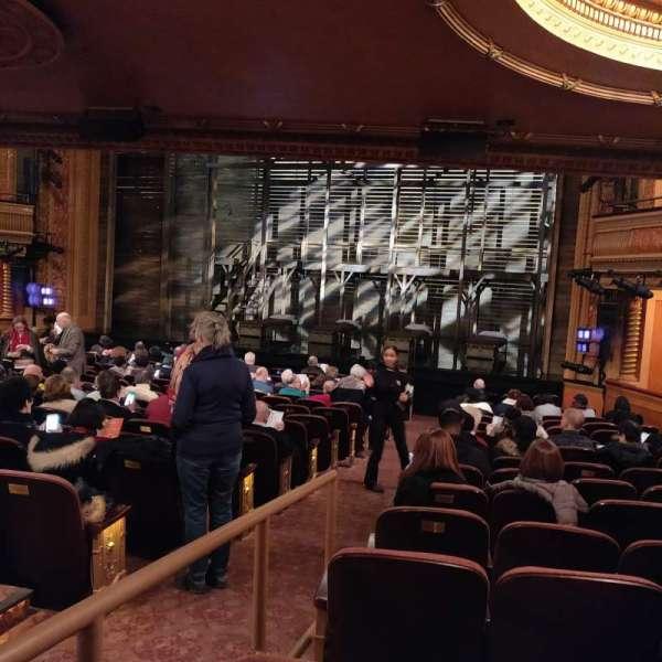American Airlines Theatre, secção: Orchestra R, fila: P, lugar: 2