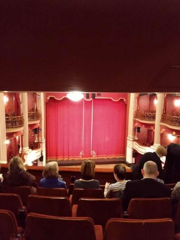 New Theatre (Cardiff), secção: Circle, fila: M, lugar: 14