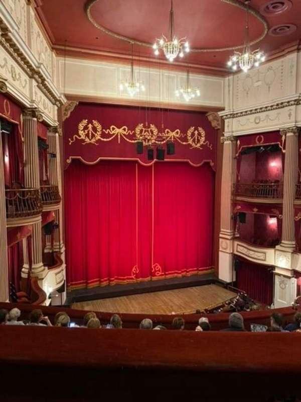 New Theatre (Cardiff), secção: Circle, fila: H, lugar: 5