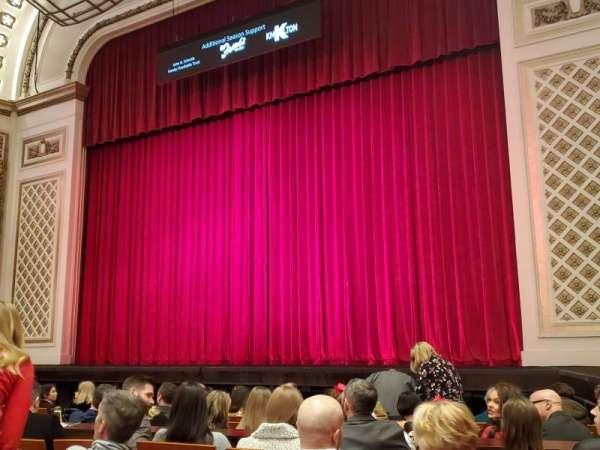 Cincinnati Music Hall, secção: Orch3, fila: E, lugar: 307