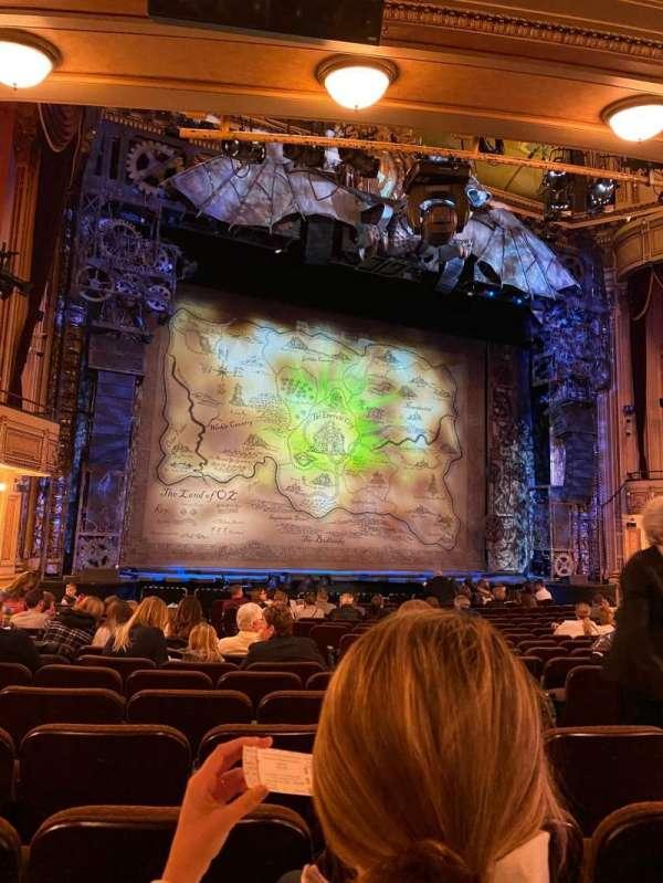 Hippodrome Theatre, secção: Left Orchestra, fila: R, lugar: 9