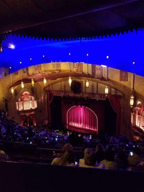 Fox Theatre (Atlanta), secção: Gallery Right C, fila: R, lugar: 48