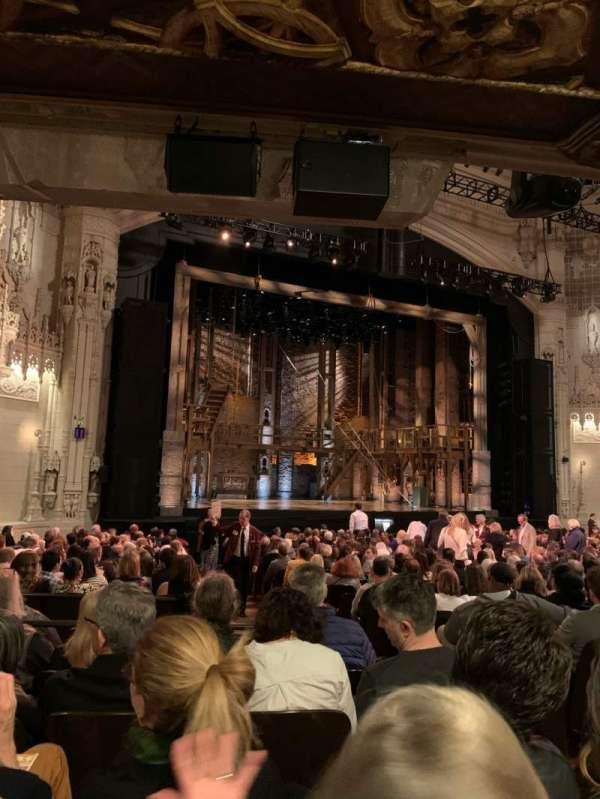 Orpheum Theatre (San Francisco), secção: Orchestra L, fila: X, lugar: 7