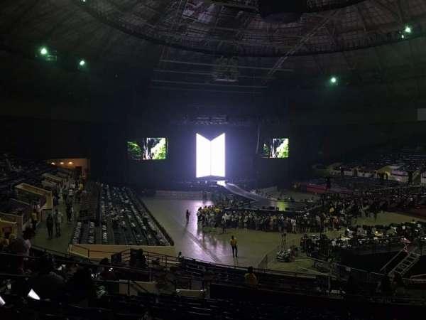 Fort Worth Convention Center, secção: 312, fila: M, lugar: 10