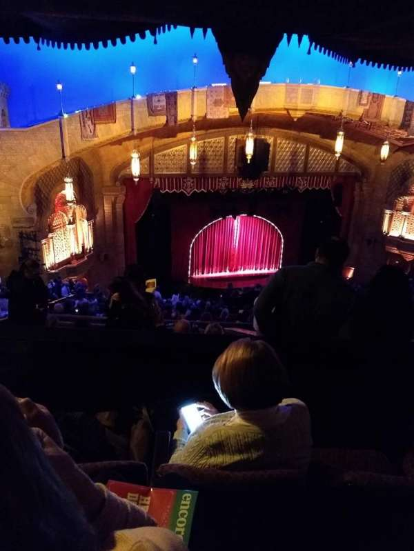 Fox Theatre (Atlanta), secção: Gallery Left B, fila: T, lugar: 25