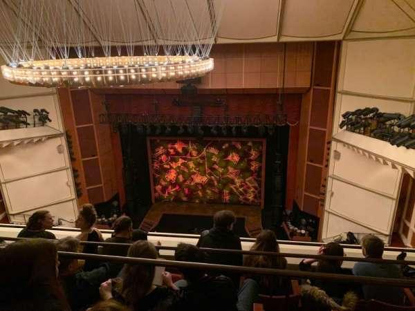 Uihlein Hall, secção: Balcony, fila: D, lugar: 37
