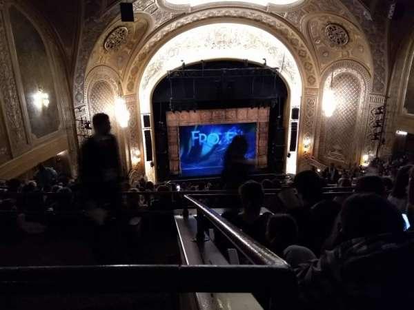 Paramount Theatre (Seattle), secção: Mezzanine 34, fila: V, lugar: 6