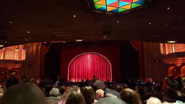 Fox Theatre (Atlanta), secção: Orchestra C, fila: FF, lugar: 64