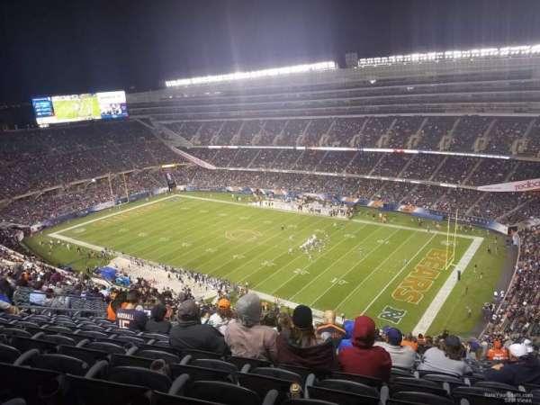 Soldier Field, secção: 431, fila: 12, lugar: 14-16