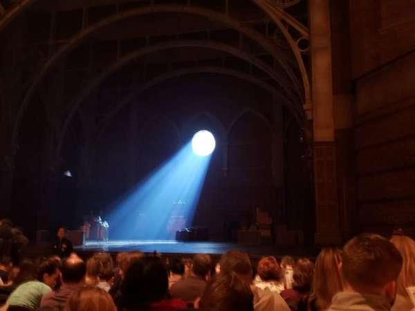 Lyric Theatre, secção: Orchestra R, fila: K, lugar: 22