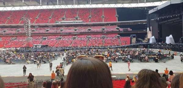 Wembley Stadium, secção: 143, fila: 20, lugar: 65