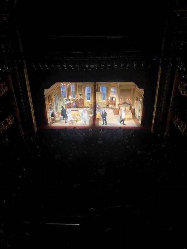 emerson colonial theatre, secção: Balcony RC, fila: A, lugar: 102