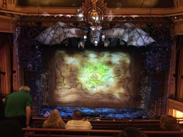 Hippodrome Theatre, secção: Center Middle Balcony, fila: E, lugar: 310