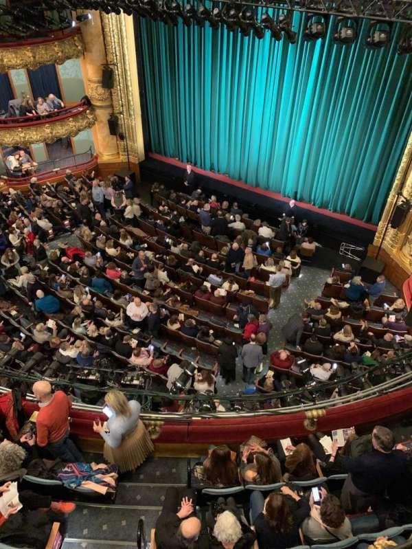 Emerson Colonial Theatre, secção: Balcony R, fila: A, lugar: 10