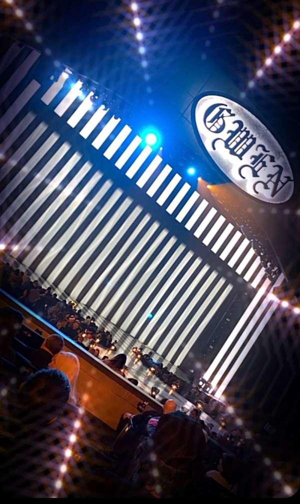 Zappos Theater, secção: 104, fila: H, lugar: 3