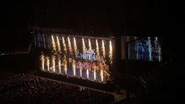 The O2 Arena, secção: 419, fila: B