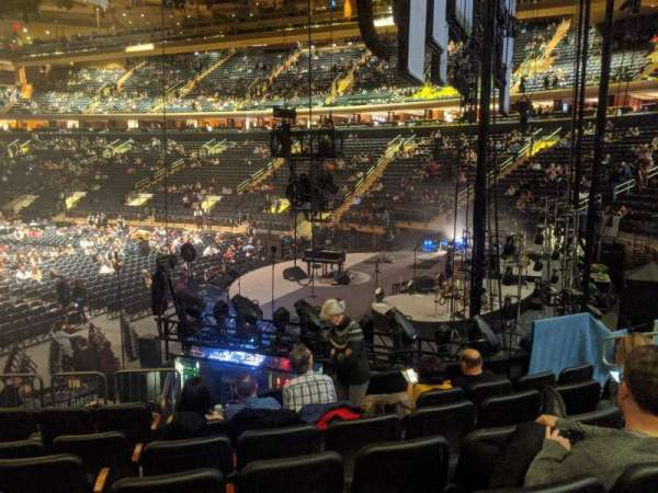 Madison Square Garden, secção: 110, fila: 11, lugar: 10