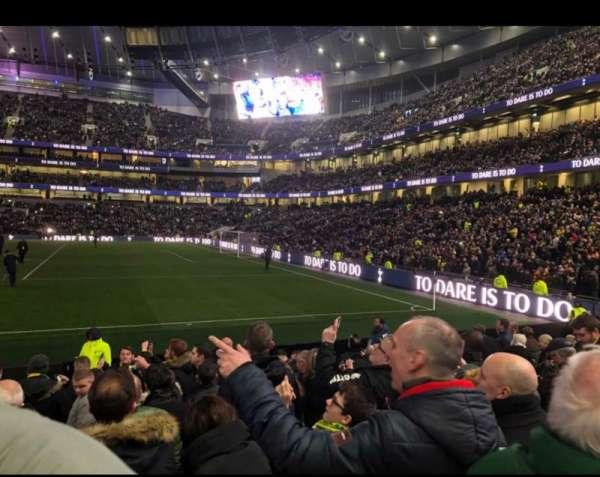 Tottenham Hotspur Stadium, secção: 118, fila: 11