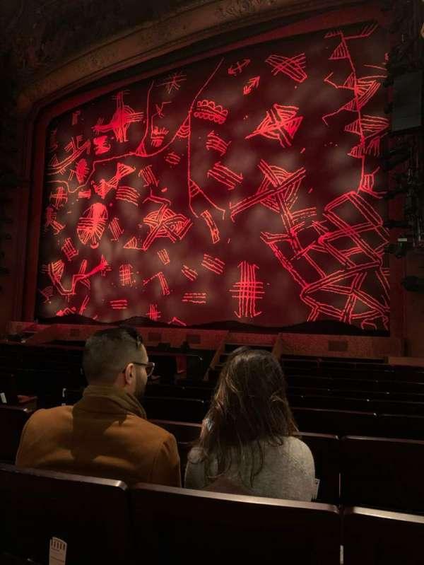 Lyceum Theatre (West End), secção: Stalls, fila: K, lugar: 12