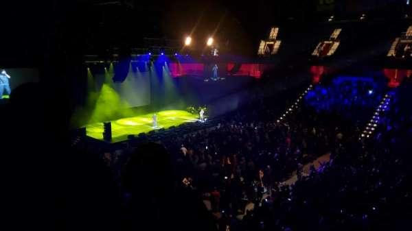 Mohegan Sun Arena, secção: 117, fila: B, lugar: 1