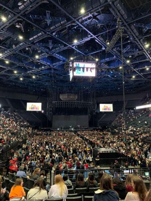 AccorHotels Arena, secção: U, fila: 15, lugar: 20