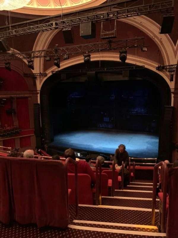 Broadway Theatre - 53rd Street, secção: Rear Mezzanine RC, fila: A, lugar: 11