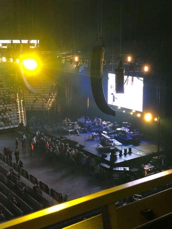 Dickies Arena, secção: 206, fila: 1, lugar: 13