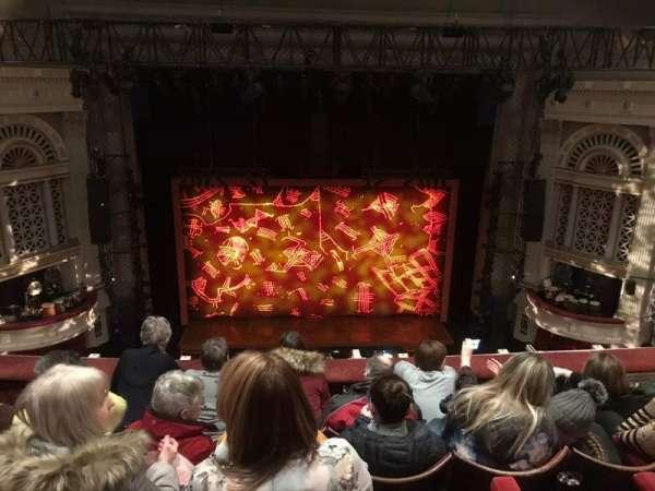 Edinburgh Playhouse, secção: Balcony, fila: E, lugar: 30