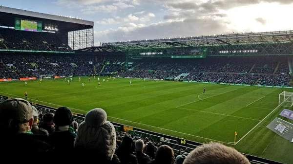 Celtic Park, secção: 101, fila: DD, lugar: 3