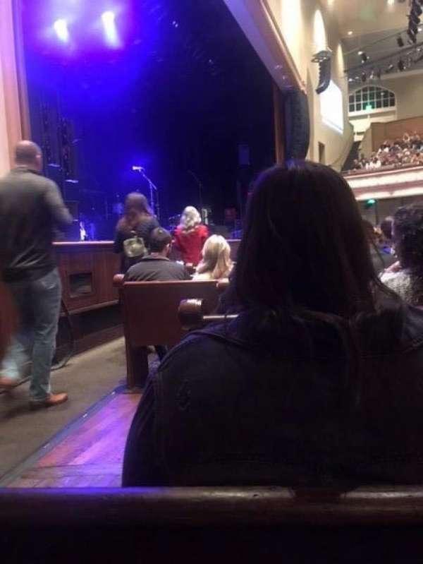 Ryman Auditorium, secção: MF-8