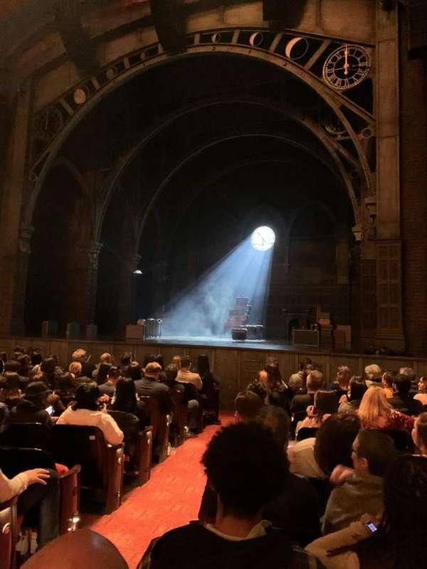 Curran Theater, secção: Orchestra, fila: K, lugar: 2