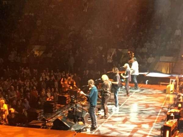 Madison Square Garden, secção: 109, fila: 9, lugar: 1