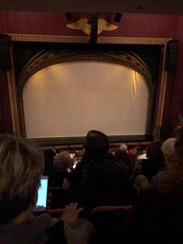 National Theatre (DC), secção: Mezzanine Center, fila: G, lugar: 113