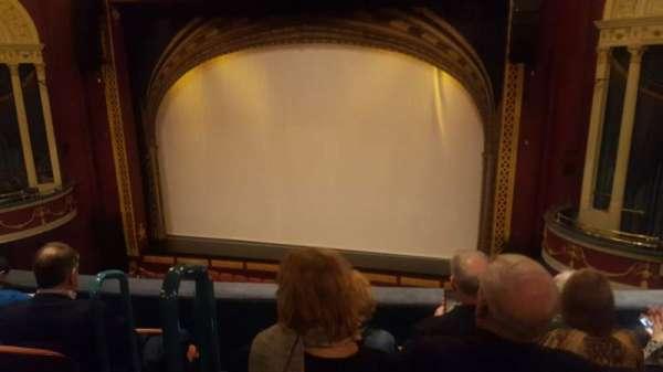 National Theatre (DC), secção: Right Mezz, fila: E, lugar: 4