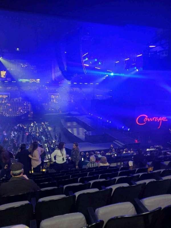 Royal Farms Arena, secção: 208, fila: k, lugar: 6