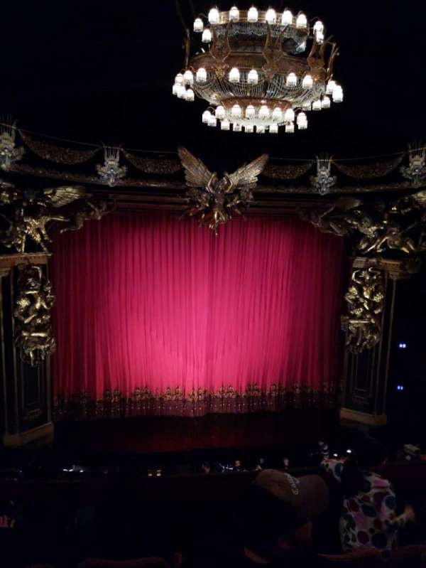 Majestic Theatre, secção: Front Mezzanine C, fila: D, lugar: 102